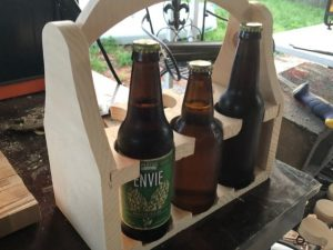 CNC Beer tote, 19mm plywood