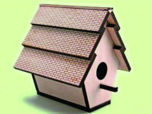 3D Laser Cut Bird House