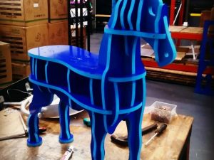 CNC 1m Horse, for 14mm thick PVC foam board