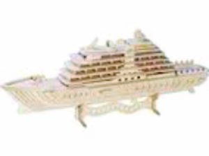 3D Laser Cut Cruise Ship
