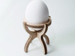 3D Laser Cut Egg Holder