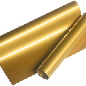 Gold Transfer t-shirt Vinyl_(61 cm x 2m)