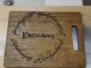 CNC Lord of the Cooks Engrave, 21cm, for wood
