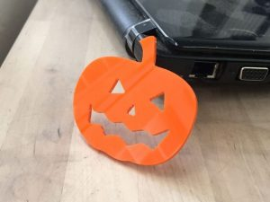 CNC Small Halloween Pumpkins, 9mm MDF