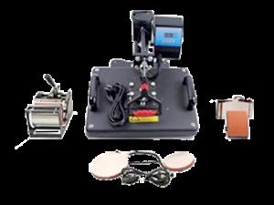 PL-Heat Press Machine (5 in 1 Set)