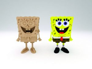 3D Laser Cut SpongeBob SquarePants