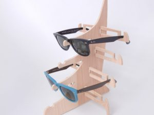 CNC Sunglasses Stand, 5mm MDF or plywood
