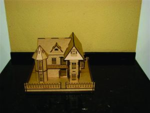 3D Laser Cut Doll House
