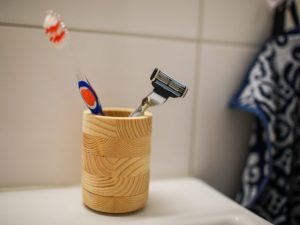 CNC Toothbrush Holder 18mm plywood or wood