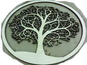 Laser Cut Tree of Life Decoration