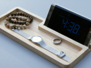 CNC Wood catchall, 19mm thick