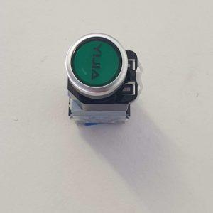 Green on/off Push Button_Fiber Engraver