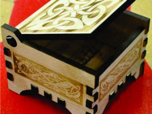 3D Laser Cut Box with lid
