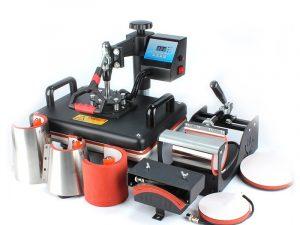 PL-Heat Press- 8 in 1 Set
