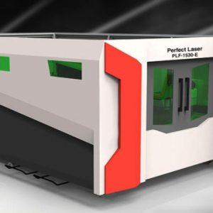 PLF-1530-E 3KW IPG Fiber Laser Enclosed Sheet Cutter