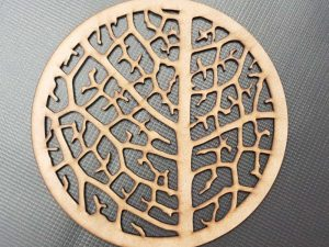 Laser Cut Round Pot Mat
