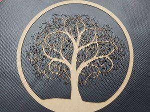 Laser Cut Tree of Life Wall Art