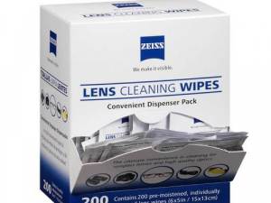 Lens Cleaning wipes box (200)