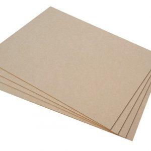 MDF Wood (89 x 59 x 1.2 mm) pack of 5
