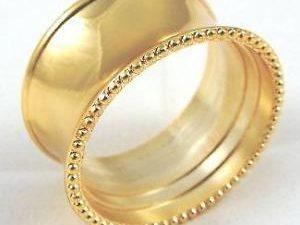 Serviette Gold ring