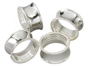 Serviette Silver ring
