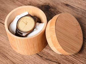 Bamboo Watch Box
