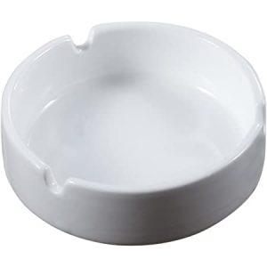Sublimation White Ceramic Ashtray