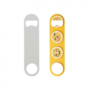 Sublimation Stainless Steel Opener (White)